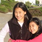 Crystal and Jasmine Happy Sibling Day
