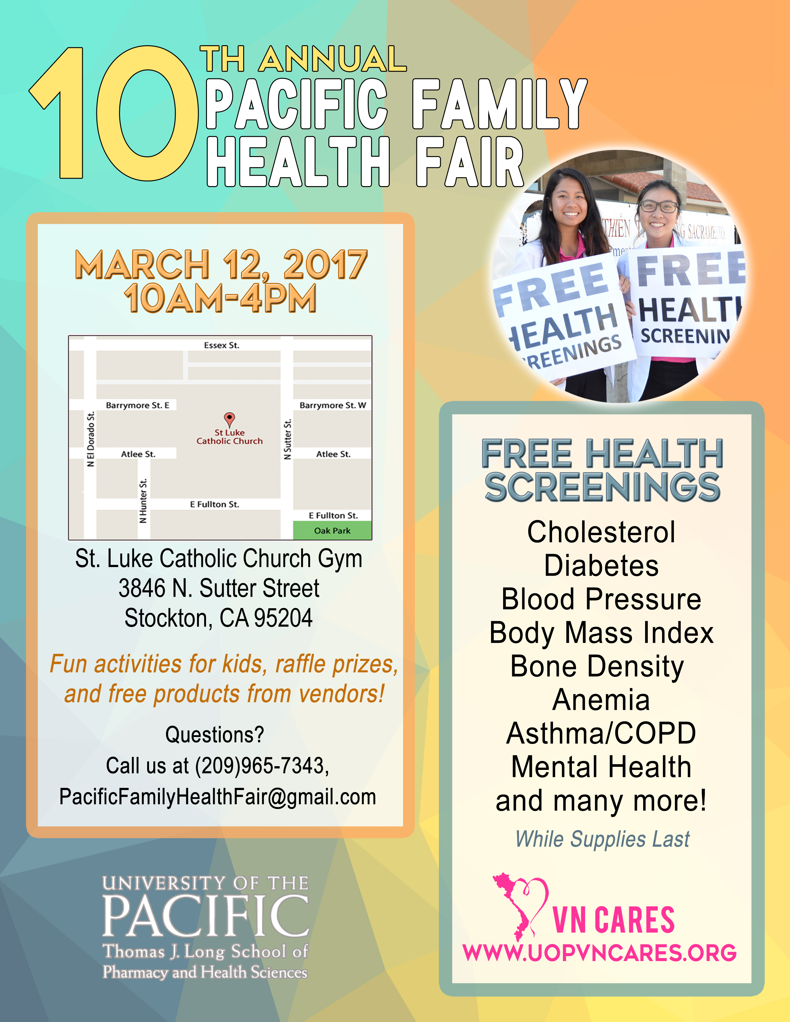 Stockton Health Fair