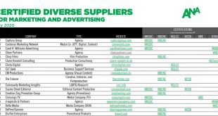Crossings TV on ANA Diverse Supplier List